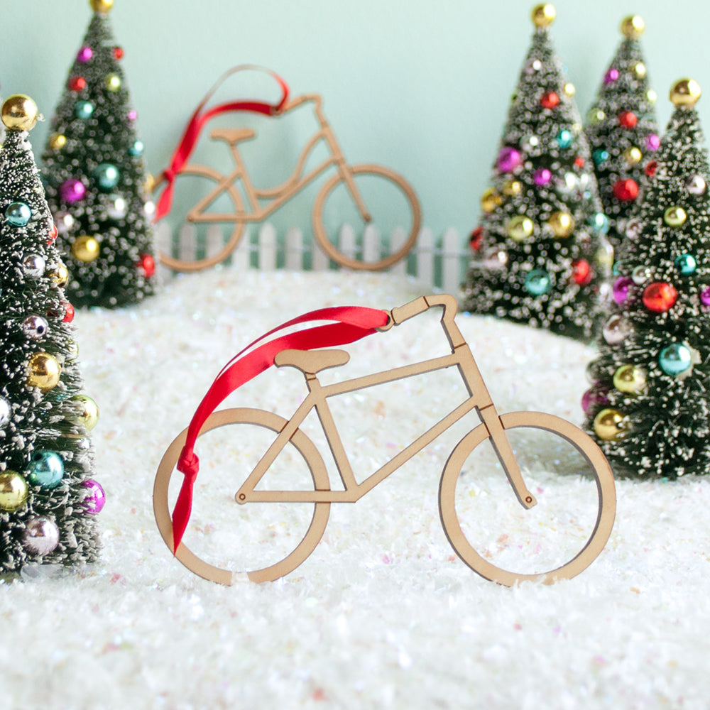 bike christmas ornaments