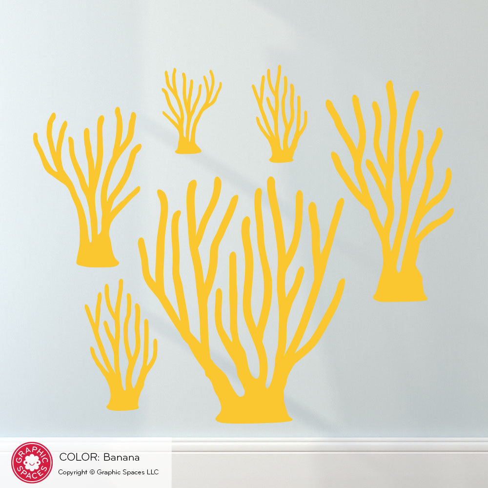 Sea Coral Wall Decal Graphic Spaces