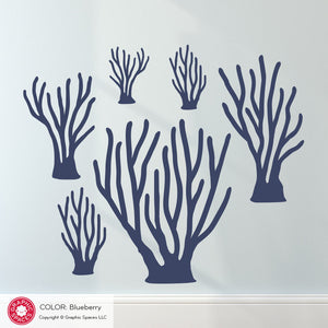 Sea Coral Wall Decal