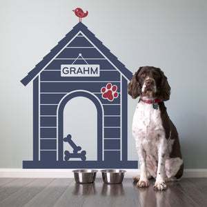 Dog House Wall Decal