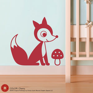 Fox Wall Decal