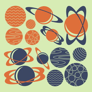 Planet Wall Decals