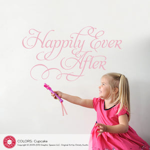 Happily Ever After: Wall Decal
