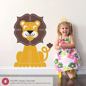 Lion Wall Decal