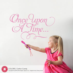 Once Upon A Time Wall Decal