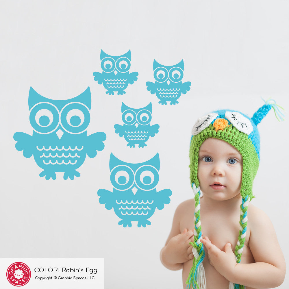 ... Owl Wall Decals ...