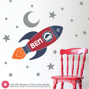 Rocket Boy Wall Decal