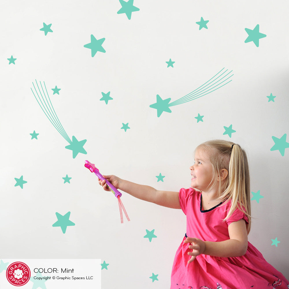 ... Star Wall Decals ...