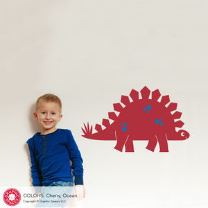 Stegosaurus Dinosaur Wall Decal
