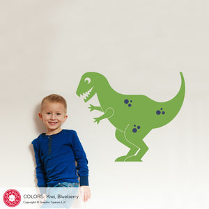 Cute T-Rex Wall Decal Large