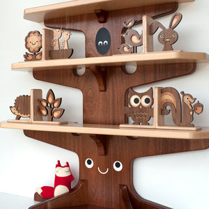 Owl Wooden Bookend Heirloom