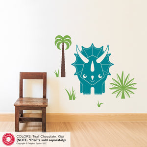 Triceratops Dinosaur Wall Decal