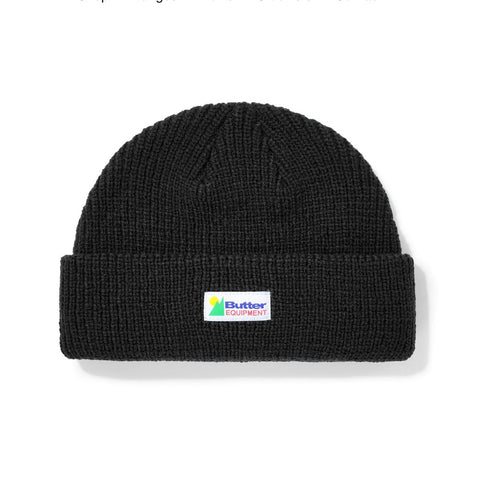 Butter Goods - Equipment Beanie (Black)
