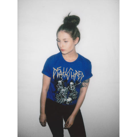 Skeleton Pit Blue - UNISEX (only S left)