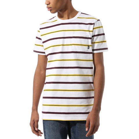 Vans - Condit Stripe T-Shirt (White)