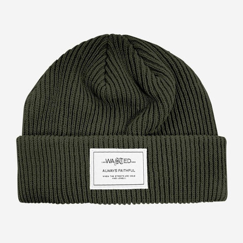 Wasted Paris - Sailor Beanie Authenticity (Slate Green)