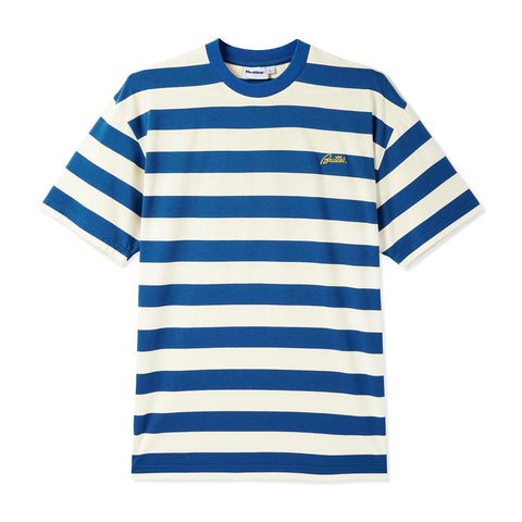 Butter Goods - Grove Stripe T-Shirt (Slate)