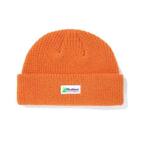 Butter Goods - Equipment Beanie (Rust)