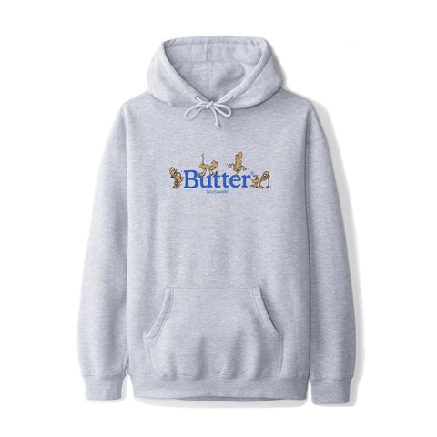 Butter Goods - Monkey Hoodie (Heather Grey)