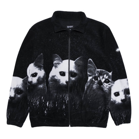 RIPNDIP - Fields Of Cats Sherpa Jacket (Black)