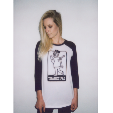 Backstabber Raglan - UNISEX (only S left)