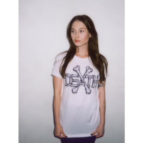 Bones White - UNISEX (only XS & S left)