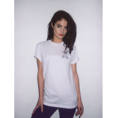 Fast Girls White - UNISEX (only S left)