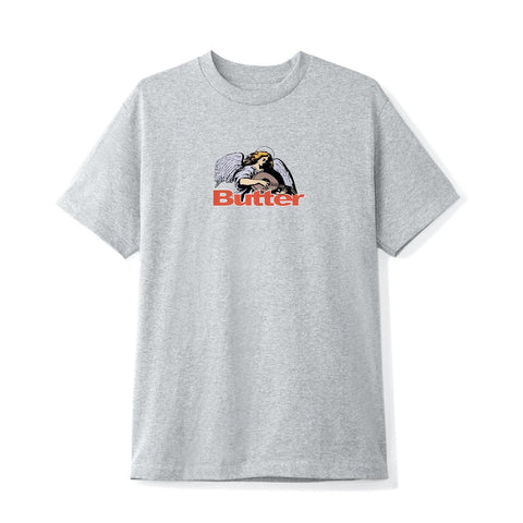 Butter Goods - Serenade Logo T-Shirt (Heather Grey)