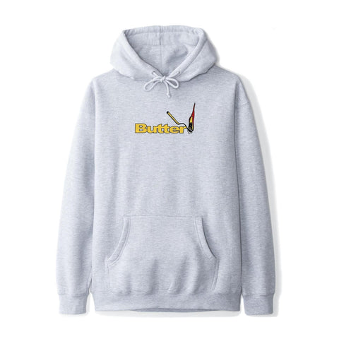 Butter Goods - Match Hoodie (Heather Grey)