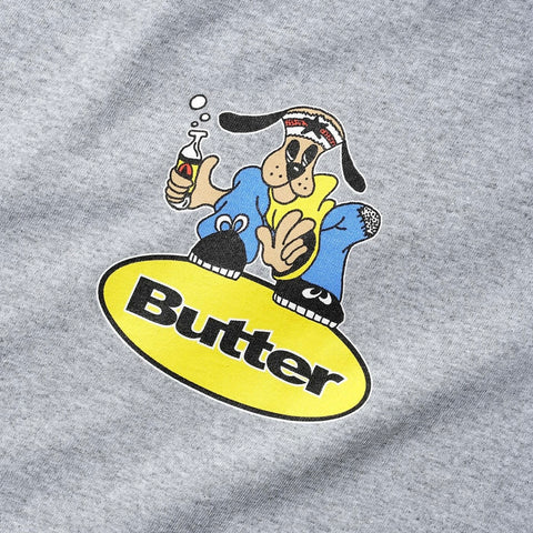 Butter Goods - Homeboy Badge T-Shirt (Heather Grey)