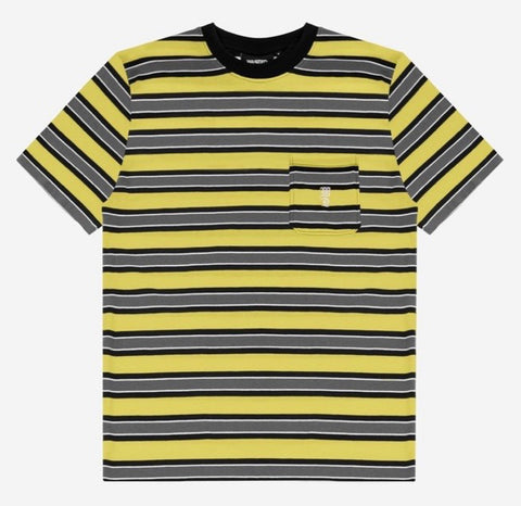 Wasted Paris - Stripes T-Shirt (Yellow)