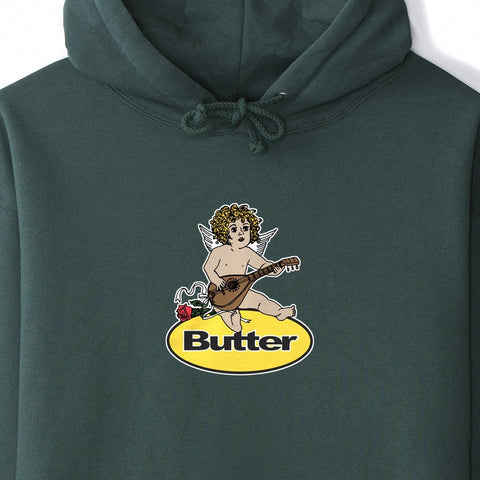 Butter Goods - Angel Batch Hoodie (Forest Green)