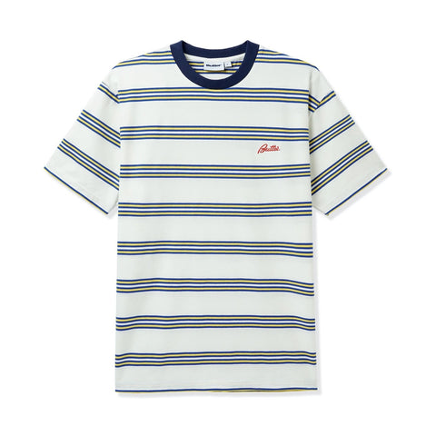 Butter Goods - Market Stripe T-Shirt (White)