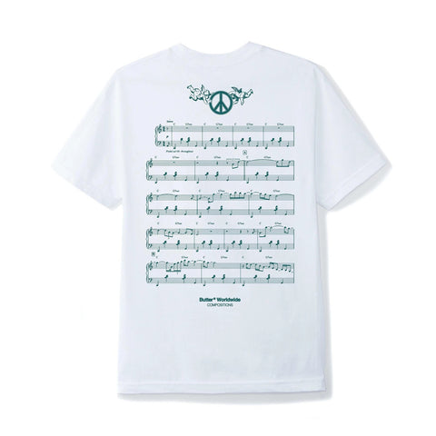 Butter Goods - Peace Piece T-Shirt (White)
