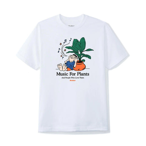 Butter Goods - Music For Plants T-Shirt (White)