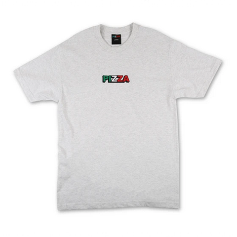 Pizza Skateboards - Tri Logo T-Shirt (Grey)