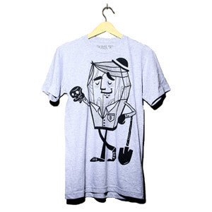 Mr Robbin Graves Grey - UNISEX (only small left)