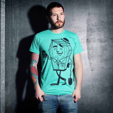 Mr Robbin Graves Mint - UNISEX (only small left)