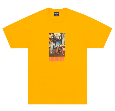 Hockey - Baghead 2 T-Shirt (Gold)