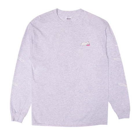 RIPNDIP - Ladies Man Longsleeve (Heather Grey)