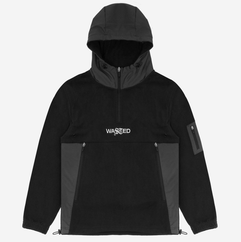 Wasted Paris - Polar Titanium Hoodie (Black)