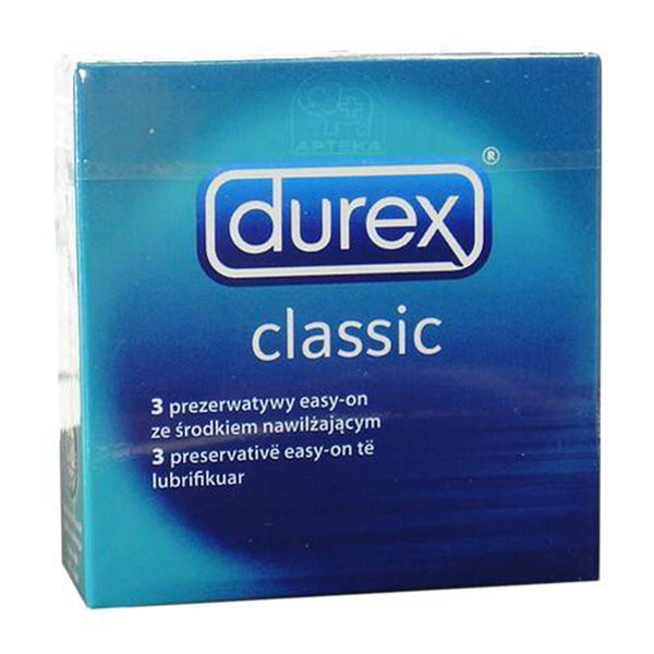 Copy of Durex Classic Natural - 3 Stuks