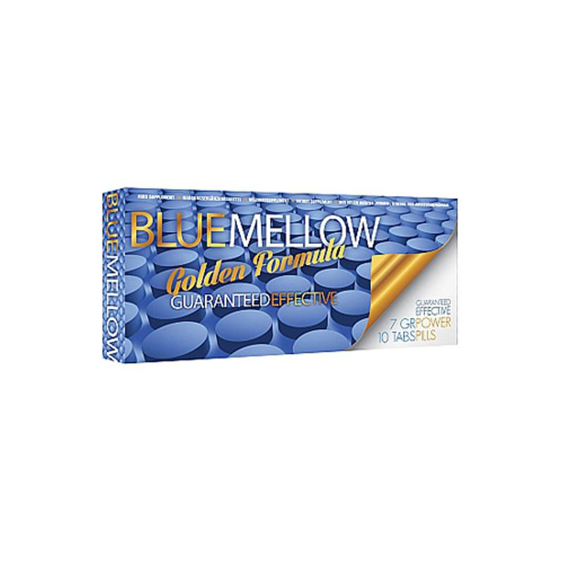 PharmaQuests Blue Mellow Erectiepillen - 10 Stuks