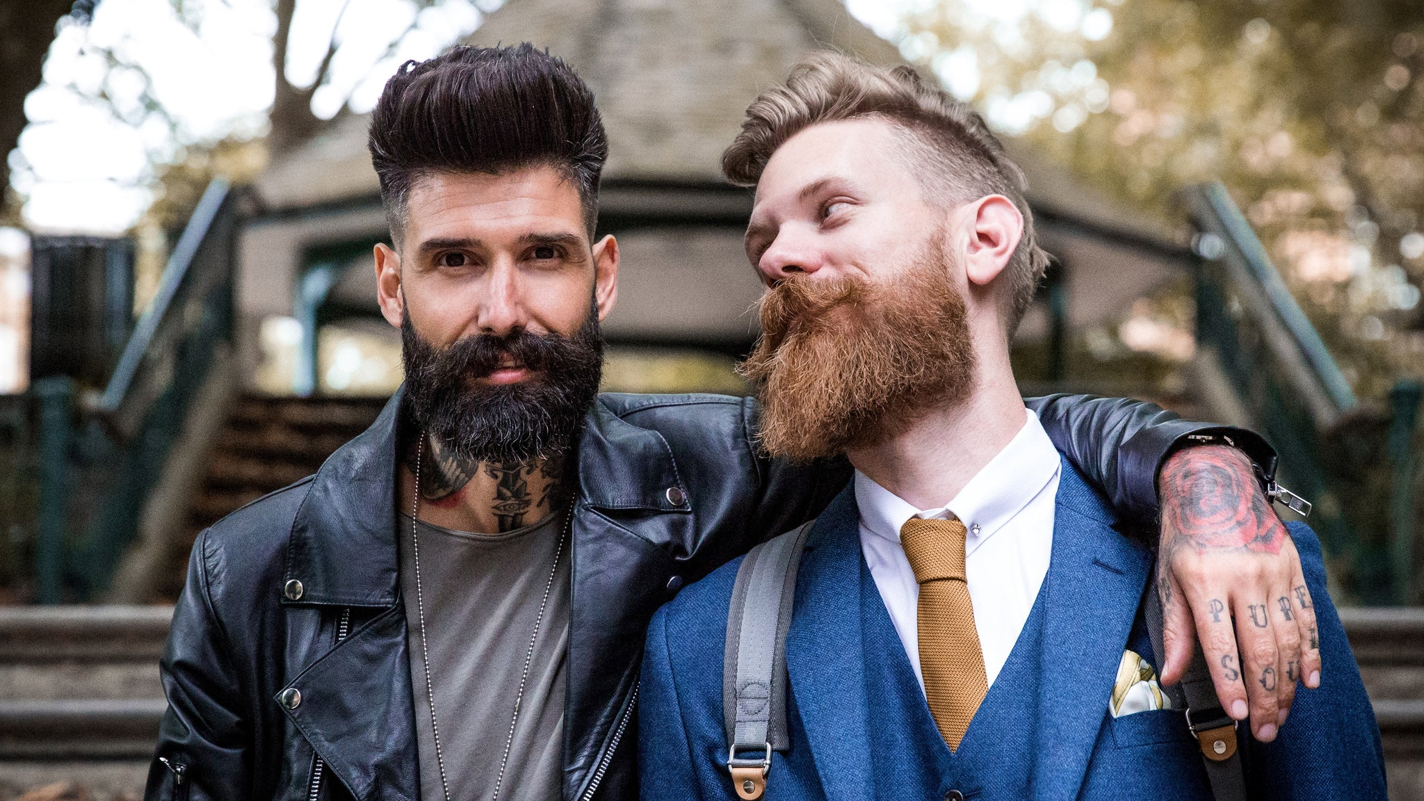 The Ultimate Outfit Guide Based on the Color of Your Beard