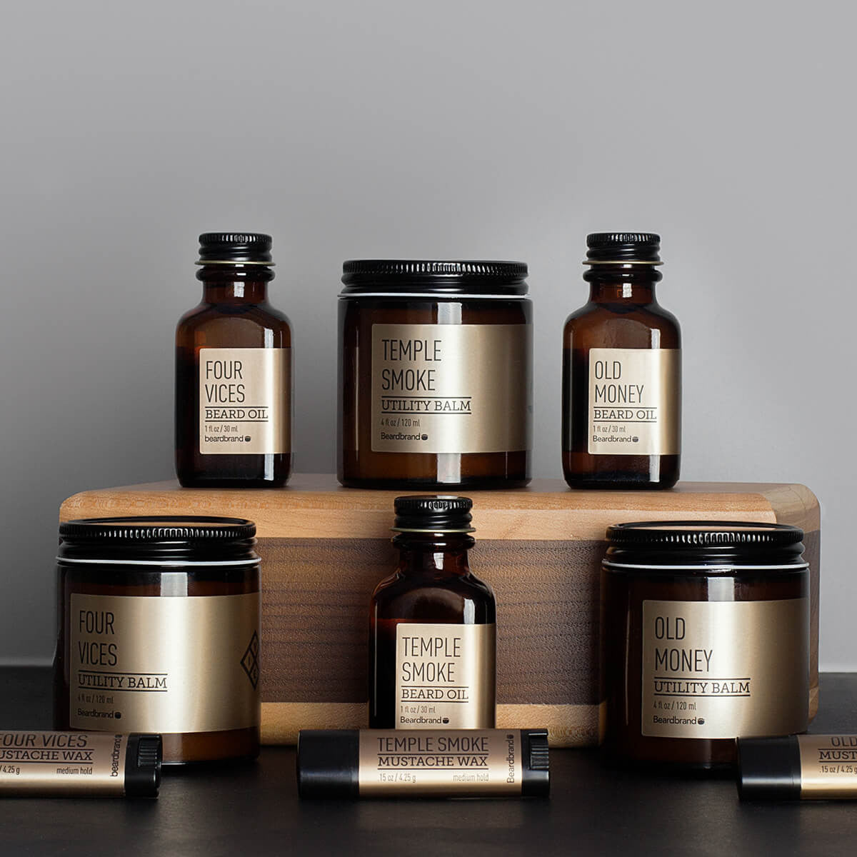 gold collection by beardbrand premium men 39 s grooming products. Black Bedroom Furniture Sets. Home Design Ideas