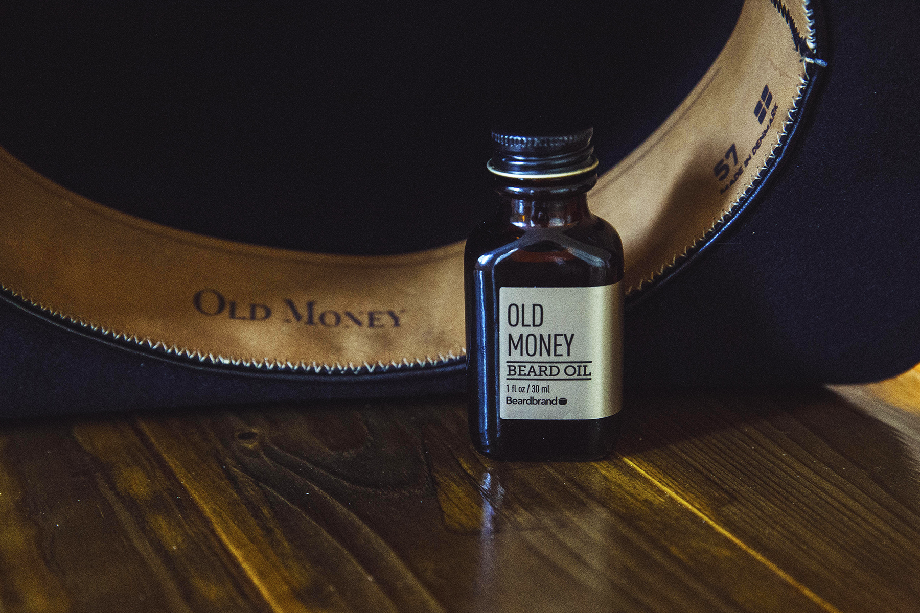 Old Money Hornskov hat & Beardbrand beard oil image