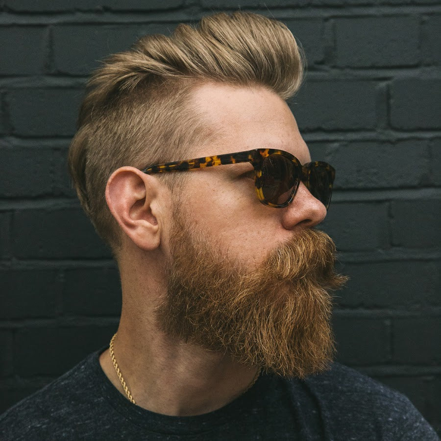 ... Experiment With Your Beard Style. Whether Itu0027s Short Stubble, A Full,  Natural Beard, Or Anything In Between, The Quiff Will Look Dapper.