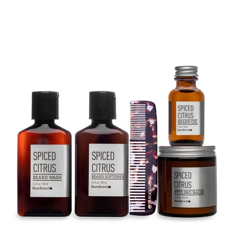 Spiced Citrus Beard Kit