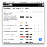 Alliance Membership