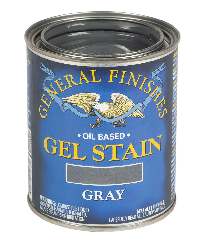 Gray Gel Stain Pint